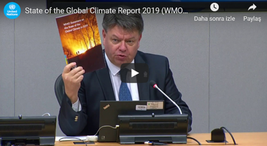 State of Global Climate Report 2019 WMO