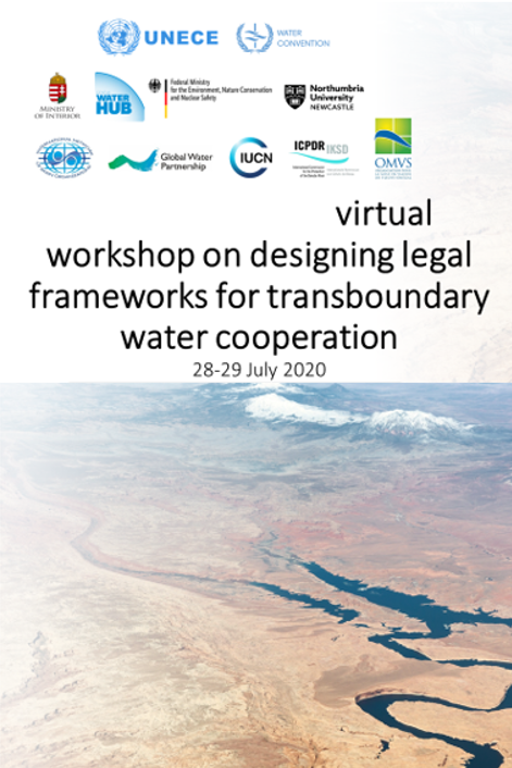 HPA Participated  to UNECE Virtual Workshop on designing legal frameworks for transboundary water cooperation hold on 28_29 July 2020