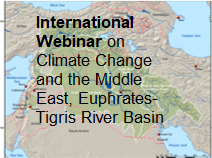 HPA Hydropolitics Academys International Webinar on Climate Change and the Middle East Euphrates_Tigris River Basin was completed