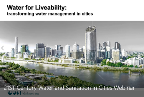 HPA Webinar 21st Century Water and Sanitation in Cities