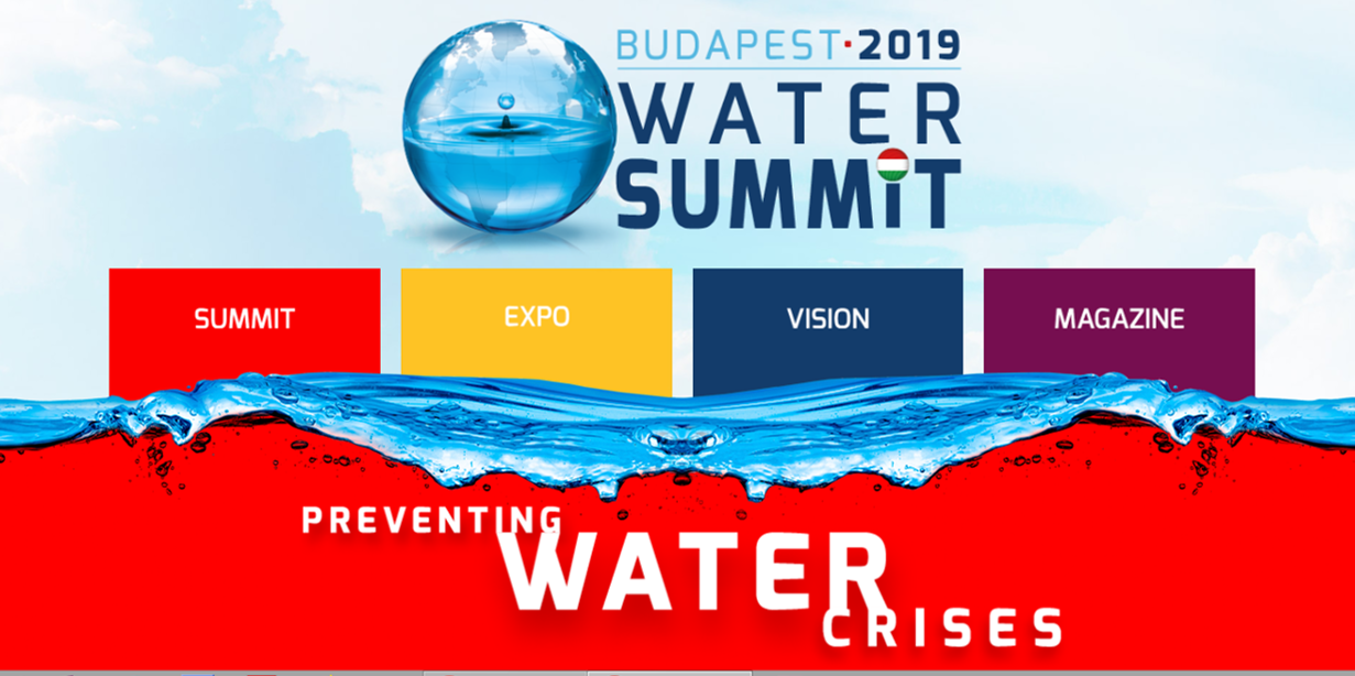 PREVENTING WATER CRISES _ BUDAPEST WATER SUMMIT 2019